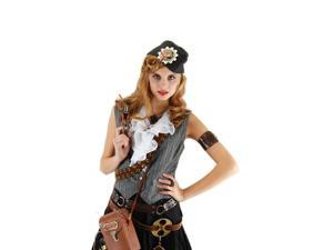 Steampunk Naval Officer Gray Hat by Elope Costumes 290715