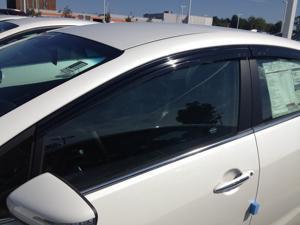 Kia Forte 4dr Sedan Window Vent Visor Deflector Rain Guard 2014-2016 JSP 218024