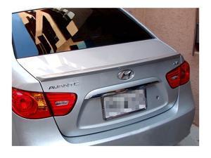 Hyundai Elantra 4Dr Sedan Factory Style Rear Spoiler Primed 2007-2010 JSP 318022