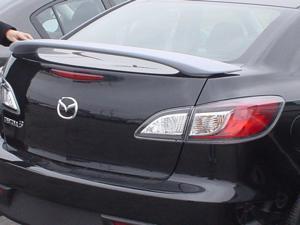 Mazda 3 4Dr Sedan Factory Style Rear Spoiler Primed 2010-2013 JSP 368036