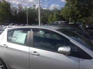 Toyota Yaris 5Dr HatchBack Window Deflector Vent Visor Rain Guard 2013-2016 JSP218064