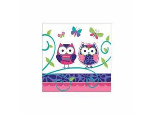 Owl Pal Birthday Luncheon Napkin by Creative Converting - 665624