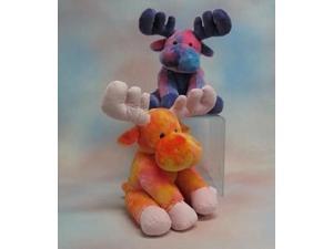"""Tie Dye Moose 11"""" by Wishpets - 84023"""