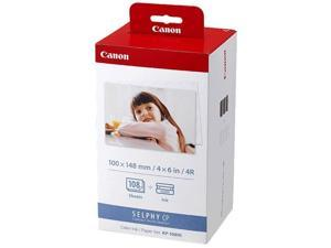 Canon KP-108IN Selphy Color Ink Paper Set 3115B001