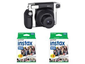Fujifilm INSTAX Wide 300 Instant Film Camera + 40 Prints Fuji Wide Instant Film