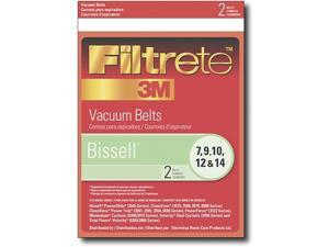 32074 Bissell Vacuum Cleaner Replacement Belt (2 Pack) by 3M (Qty of 4)