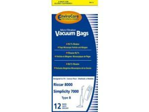 Type B Riccar® Vacuum Cleaner Replacement Bags by Envirocare® (12 Pack)