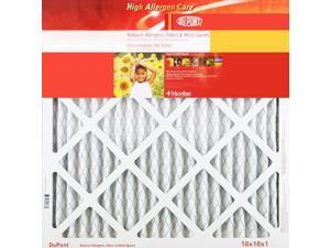 14x20x1 DuPont High Allergen Care Electrostatic Air Filter (4 Pack)