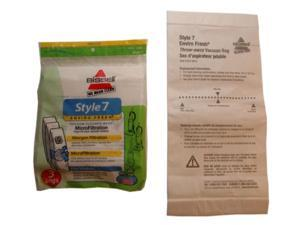Type 7 Bissell Vacuum Cleaner Replacement Bag (3 Pack) (Qty of 4)