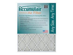 17x20x1 (16.5 x 19.5) Accumulair Emerald 1-Inch Filter (MERV 6) (4 Pack)