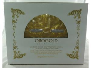 Oro Gold 24K Deep Tissue Rejuvenation Mask & Collagen Eye Renewal