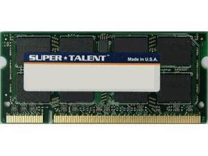 Super Talent DDR2-800 SODIMM 1GB/128x8 Micron Chip Notebook Memory