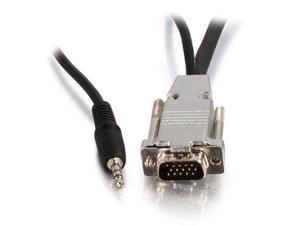 50Ft Plenum Hd15 M/F Uxga Cbl W/ Audio
