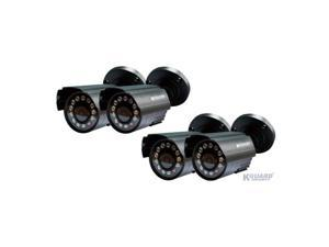 BR401-4CW154M All-in-One 4-Channel H.264 DVR Surveillance Combo Kit w/ 4 CMOS Cameras