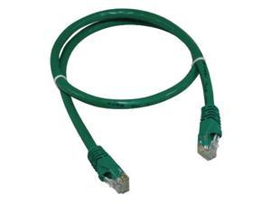 2' Green Cat6 Ethernet Patch Cable