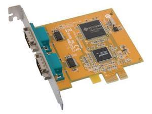Two Port PCI-Express Serial RS-232 Expansion Card