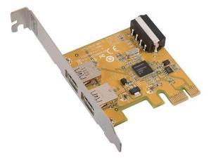 Two Port USB 3.0 PCI-Express Expansion Card