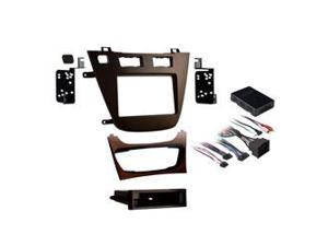 2011-Up Buick Regal Single/Double DIN Mounting Kit  Brown