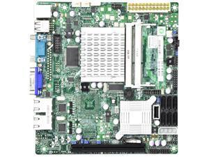 X7Spa-H-D525-B Intel Atom D525/ Intel Ich9R/ Ddr3/ V&2Gbe/ Mini Itx Server Motherboard, Bulk
