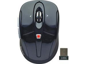 MPT3300BLK Black 2.4GHz Wireless Optical Tilt-Wheel Mouse