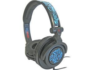 190265 AMPlified Tribal Glow Heavy Bass Headphone