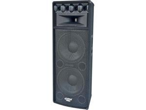 PADH212 12 Inch 1600-Watt Heavy Duty Pa Speaker Mdf Construction Reinforced Corners