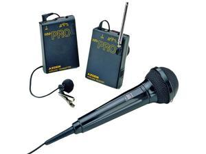 WMS-PRO Wireless Lavaliere System with Additional Hand-Held Microphone
