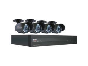 STA-44 4-Channel STA 500GB DVR with 4 Night Vision Cameras and Smartphone Viewing