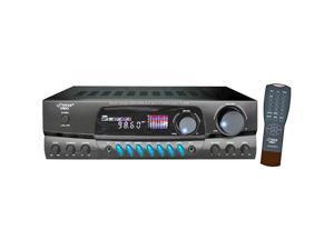 PT260A 200-Watt Digital Am/Fm Stereo Receiver A/B Speaker Output 3 Rca Input Sources