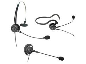 202786 Tria  Convertible Monaural Single-Wire Headset for Headset-Ready Phones and V-Series Quick Disc