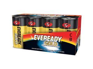A93-8 C Cell Alkaline Battery Bulk Pack - 8-Pack