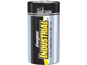 EN93 C Cell Industrial Strength Alkaline Battery, 8350mAh - 12-Pack