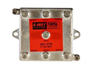 201-276 1GHz 130dB 6-Way Vertical Splitter