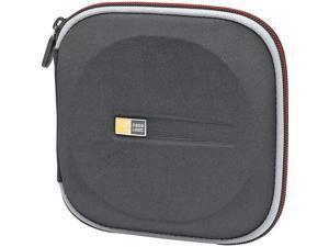 EVW-24BLACK 24-CD Zippered Wallet