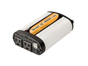 400 Watt Dc To AC Pwer Invrtr 2.1a USB Prt, 110vx2