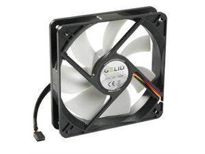 Gelid Silent12 120mm Silent Case Fan, 3 Pin Molex