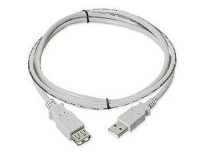 USB 2.0 Extension Cable  Am / Af  3 Ft  Beige