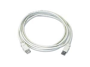 USB 2.0 Extension Cable  Am / Af 10 Ft  Beige