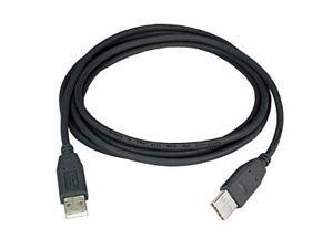 Ziotek 131 1030 Ziotek USB 2.0 Cable A Male To A Male, Black, 6ft