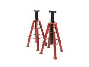 1410 10 Ton High Height Pin Type Jack Stands (Pair)