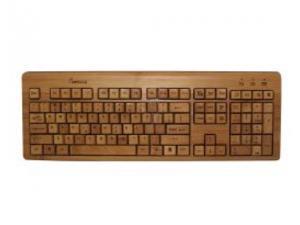KBB500 Full Bamboo Custom Carved Designer Keyboard