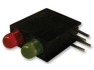 DIALIGHT 553-0121F INDICATOR, LED PCB, 2-LED, RED / GREEN
