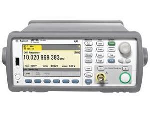 AGILENT TECHNOLOGIES 53230A-GSA FREQUENCY COUNTER, 12-DIGIT, 0.2 PPM