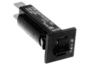 Thermal Circuit Breaker, Fuse Holder  Type 15A .007Ohm .250in terminals