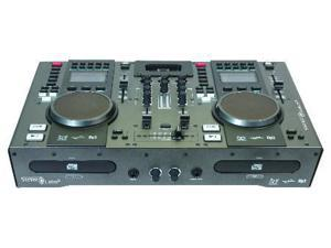 Dual CD Player - Mixer, With iPod Dock And Midi