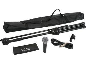 Complete Microphone Kit with Stand and Cable