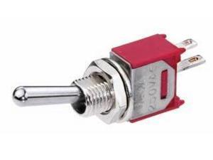 Bat Handle Subminiature Toggle Switch - 3A SPST