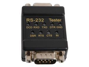 RS232/DB9 In-Line Signal Link Tester