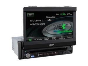 Head Unit Single DIN Bluetooth 7in Display am/fm/cd/dvd iPod