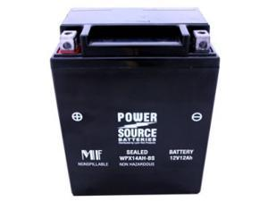Power Source Battery WPX14AH-BS (WP14L-B Replacement) Sealed Battery 01-347 - 1 Year Manufacturer Warranty!